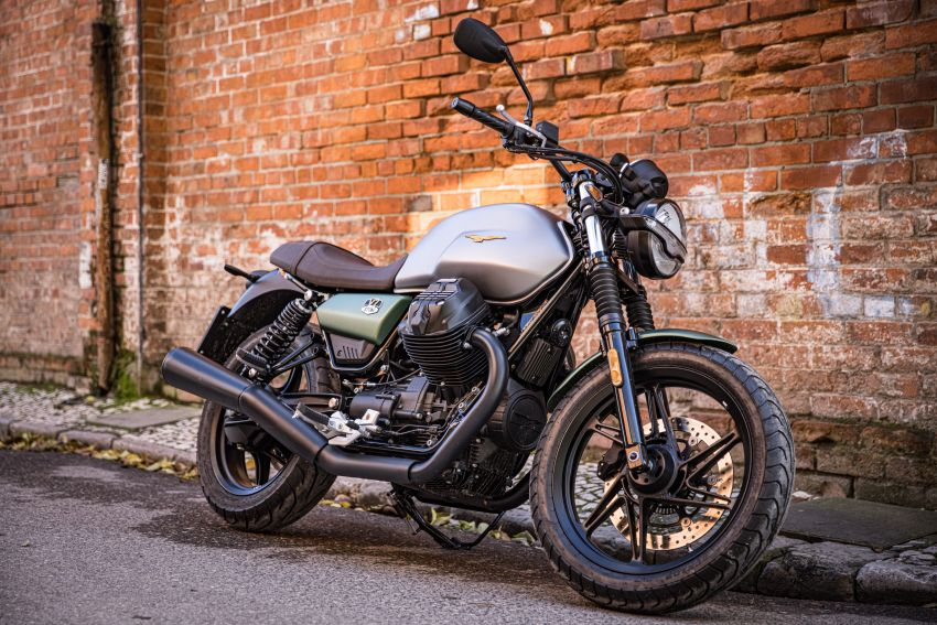 Moto Guzzi celebrates 100th anniversary in 2021  – Moto Guzzi V7, V9 and V85TT in centennial livery Image #1238315