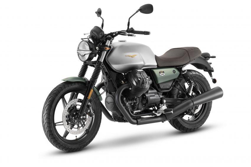 Moto Guzzi celebrates 100th anniversary in 2021  – Moto Guzzi V7, V9 and V85TT in centennial livery Image #1238292