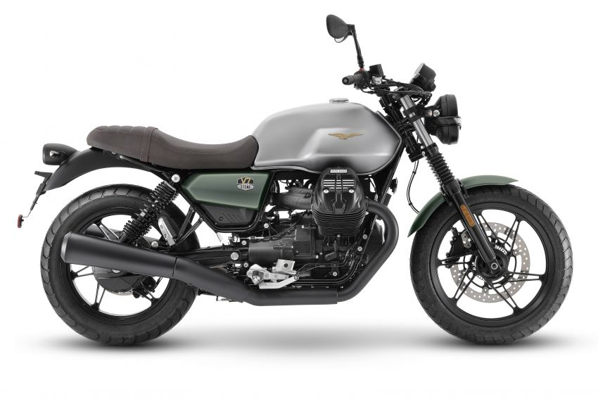 Moto Guzzi celebrates 100th anniversary in 2021  – Moto Guzzi V7, V9 and V85TT in centennial livery Image #1238294