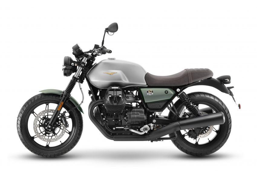 Moto Guzzi celebrates 100th anniversary in 2021  – Moto Guzzi V7, V9 and V85TT in centennial livery Image #1238295