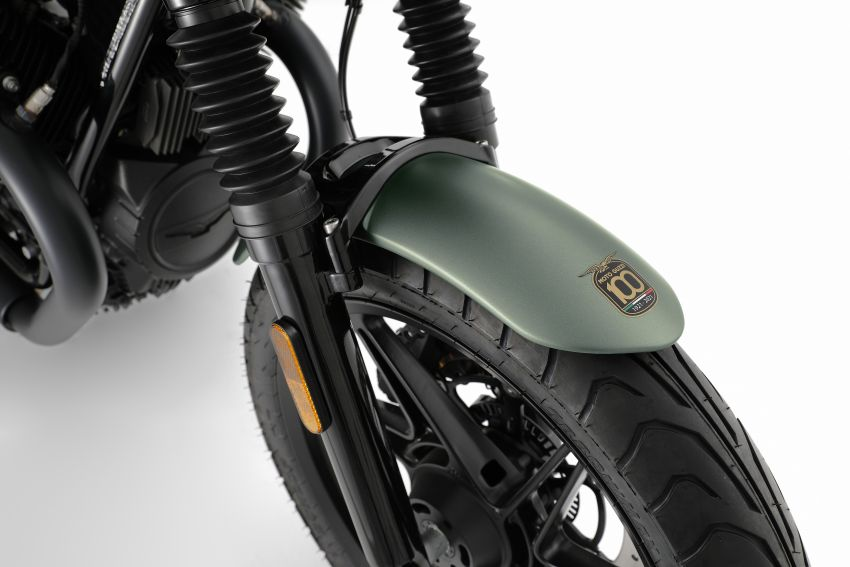 Moto Guzzi celebrates 100th anniversary in 2021  – Moto Guzzi V7, V9 and V85TT in centennial livery Image #1238299