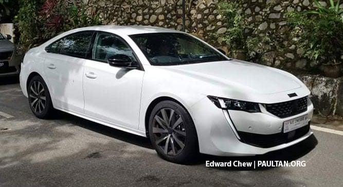 SPIED: 2021 Peugeot 508 seen in Balik Pulau, Penang Image #1232173