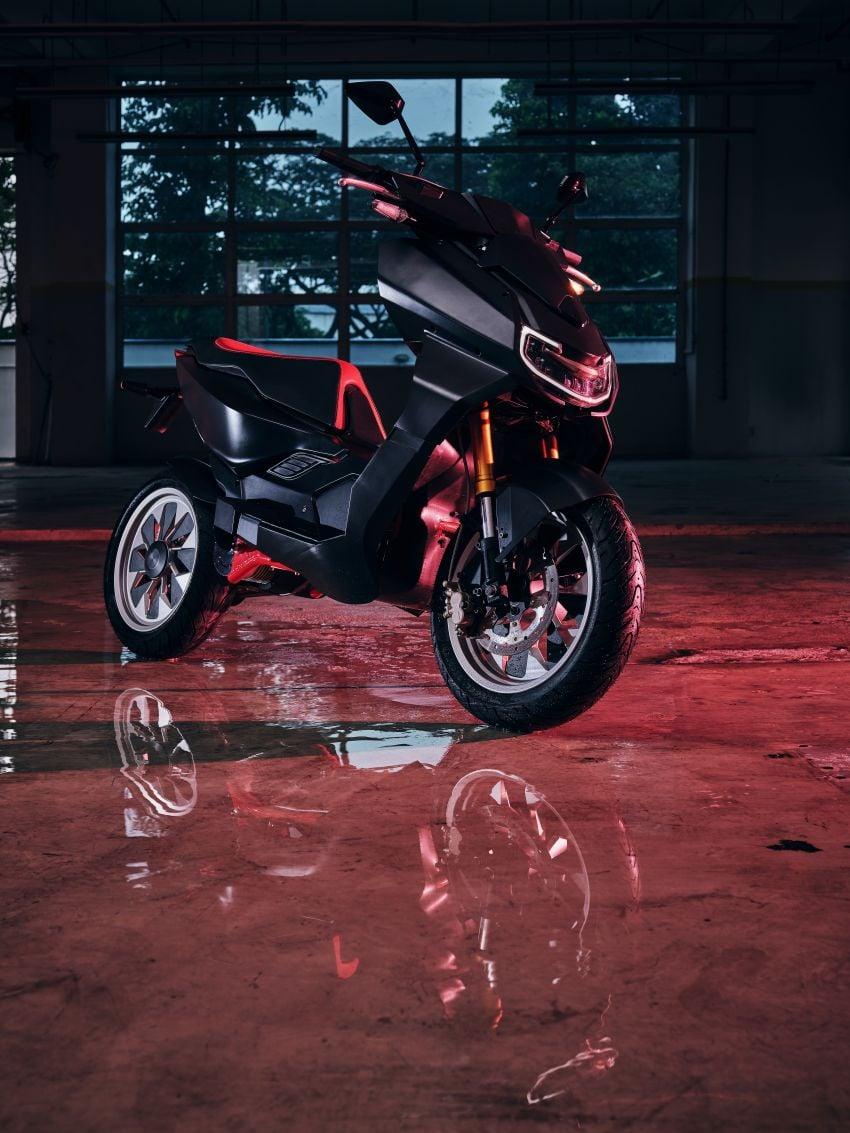 Scorpio Electric Singapore shows X Model prototype Image #1234832