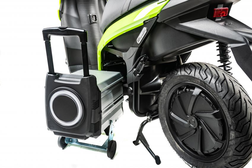 Silence 'e-moto' scooter in UK market, from RM15k Image #1234357