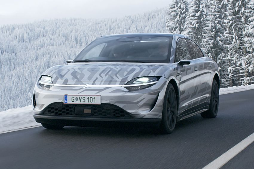 VIDEO: Sony Vision-S begins road tests in Europe – could we see a production Sony electric vehicle? Image #1234646
