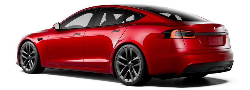 2021 Tesla Model S facelift – new interior with half-rim steering yoke, onboard gaming computer, 1,020 hp Image #1241426