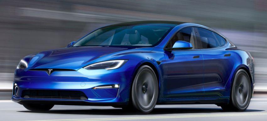Tesla Model S facelift 2021 – stereng seperti kapal terbang, dilengkapi sistem permainan video, 1,020 hp Image #1241801