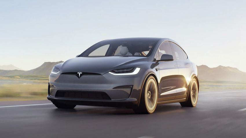 2021 Tesla Model X facelift – new 1,020 hp Plaid model, 0-96 km/h in 2.5s; gaming-capable infotainment system Image #1241718