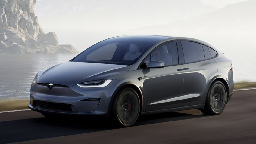 2021 Tesla Model X facelift – new 1,020 hp Plaid model, 0-96 km/h in 2.5s; gaming-capable infotainment system Image #1241720