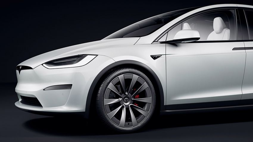 2021 Tesla Model X facelift – new 1,020 hp Plaid model, 0-96 km/h in 2.5s; gaming-capable infotainment system Image #1241706