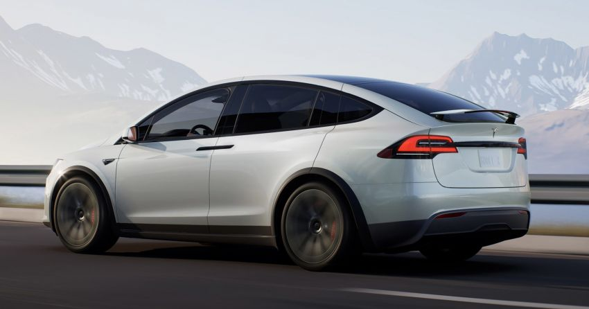 2021 Tesla Model X facelift – new 1,020 hp Plaid model, 0-96 km/h in 2.5s; gaming-capable infotainment system Image #1241707