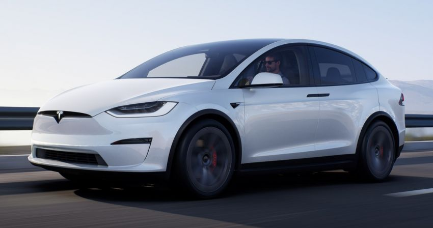 2021 Tesla Model X facelift – new 1,020 hp Plaid model, 0-96 km/h in 2.5s; gaming-capable infotainment system Image #1241729
