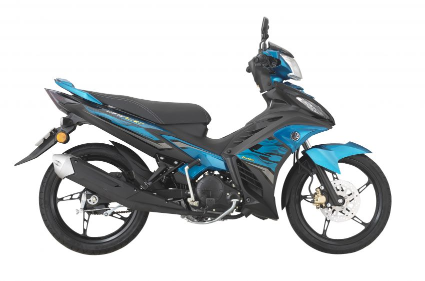 2021 Yamaha 135LC in new colours, from RM6,868 Image #1231988