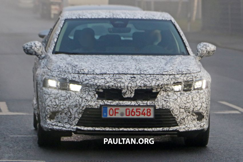 SPIED: 2022 Honda Civic Hatchback caught testing Image #1232069
