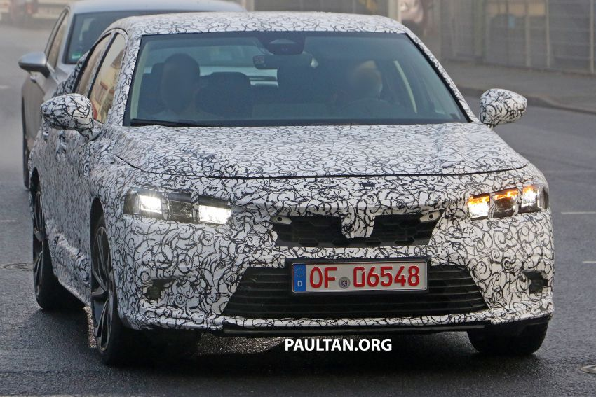 SPIED: 2022 Honda Civic Hatchback caught testing Image #1232071