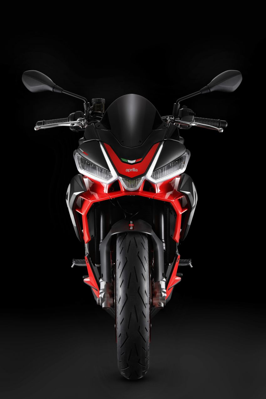 Aprilia Tuono 660 sport naked – 94 hp, 183 kg kerb weight; 47 hp version for restricted license riders Image #1232999