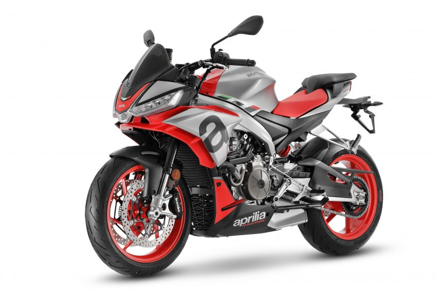 Aprilia Tuono 660 sport naked – 94 hp, 183 kg kerb weight; 47 hp version for restricted license riders Image #1232997