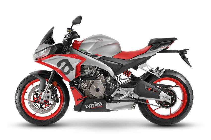 Aprilia Tuono 660 sport naked – 94 hp, 183 kg kerb weight; 47 hp version for restricted license riders Image #1232995