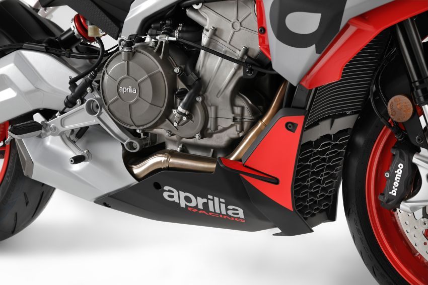 Aprilia Tuono 660 sport naked – 94 hp, 183 kg kerb weight; 47 hp version for restricted license riders Image #1232987