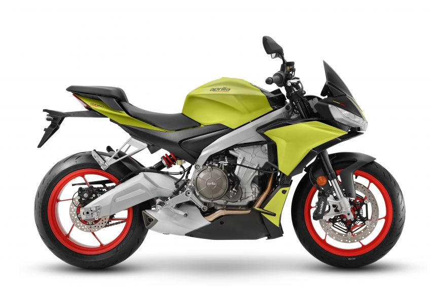 Aprilia Tuono 660 sport naked – 94 hp, 183 kg kerb weight; 47 hp version for restricted license riders Image #1233006