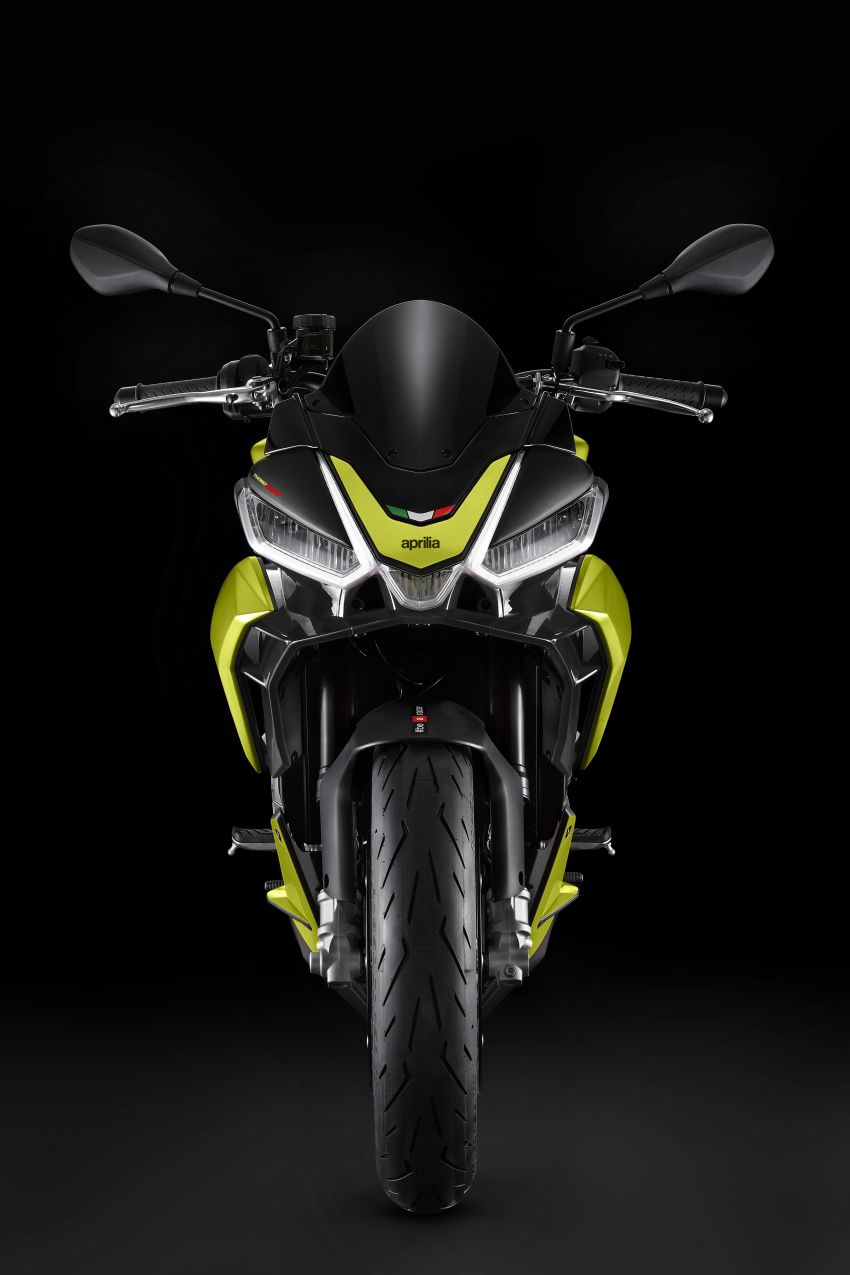 Aprilia Tuono 660 sport naked – 94 hp, 183 kg kerb weight; 47 hp version for restricted license riders Image #1233004