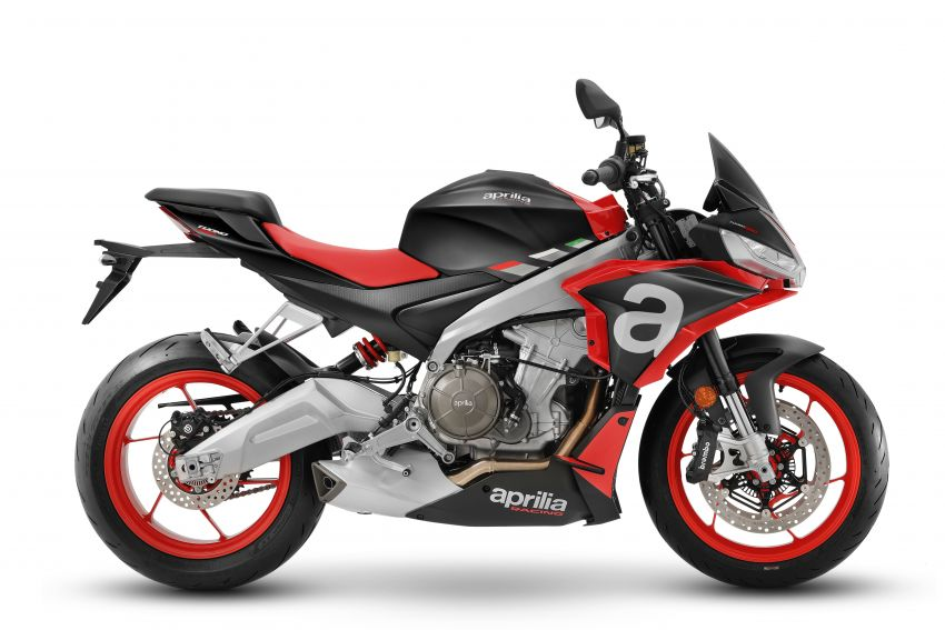Aprilia Tuono 660 sport naked – 94 hp, 183 kg kerb weight; 47 hp version for restricted license riders Image #1233001