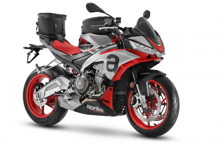 Aprilia Tuono 660 sport naked – 94 hp, 183 kg kerb weight; 47 hp version for restricted license riders Image #1233014