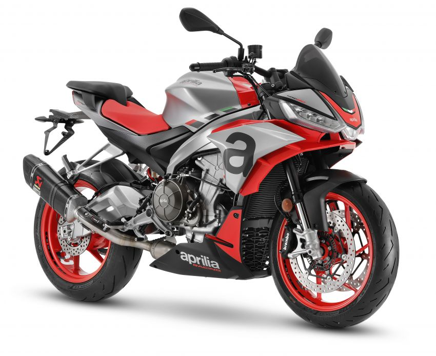 Aprilia Tuono 660 sport naked – 94 hp, 183 kg kerb weight; 47 hp version for restricted license riders Image #1233011