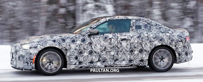SPYSHOTS: 2021 BMW 2 Series Coupe on winter test Image #1238510