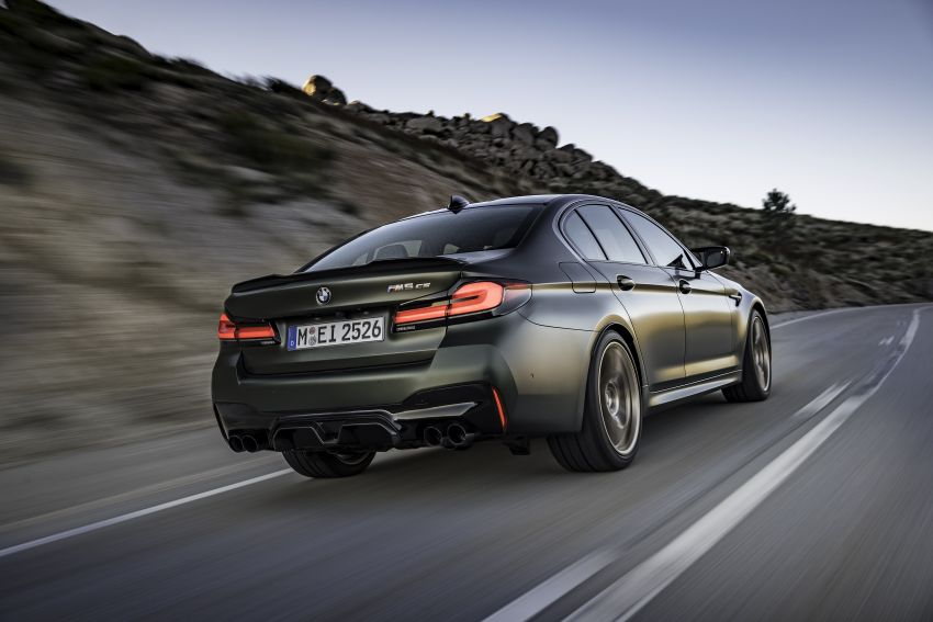 BMW M5 CS – 635 hp/750 Nm, 0-100 km/h in three seconds; more carbon, less weight, four bucket seats Image #1240483
