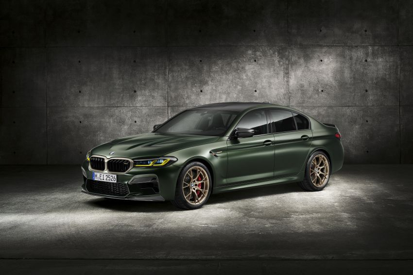 BMW M5 CS – 635 hp/750 Nm, 0-100 km/h in three seconds; more carbon, less weight, four bucket seats Image #1240470