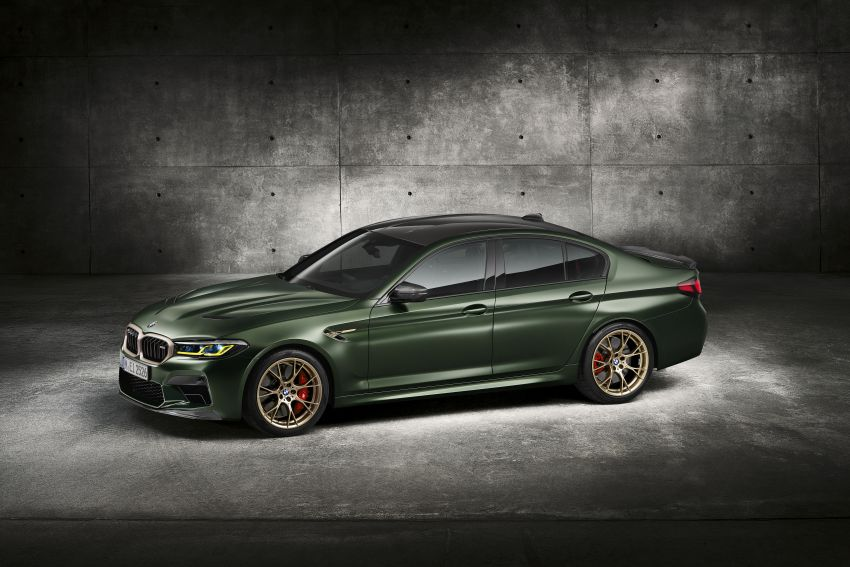 BMW M5 CS – 635 hp/750 Nm, 0-100 km/h in three seconds; more carbon, less weight, four bucket seats Image #1240467