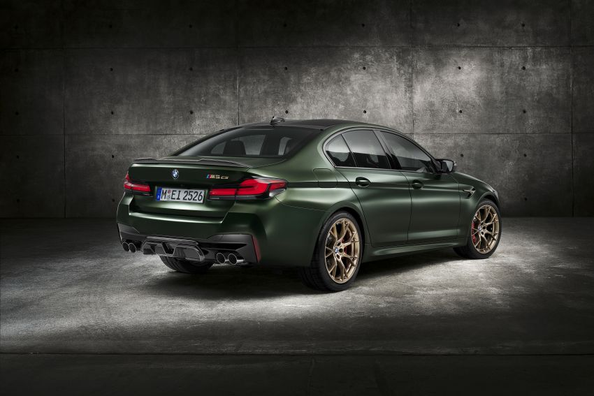 BMW M5 CS – 635 hp/750 Nm, 0-100 km/h in three seconds; more carbon, less weight, four bucket seats Image #1240466