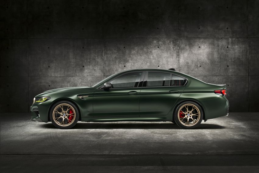 BMW M5 CS – 635 hp/750 Nm, 0-100 km/h in three seconds; more carbon, less weight, four bucket seats Image #1240463