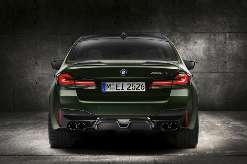 BMW M5 CS – 635 hp/750 Nm, 0-100 km/h in three seconds; more carbon, less weight, four bucket seats Image #1240460