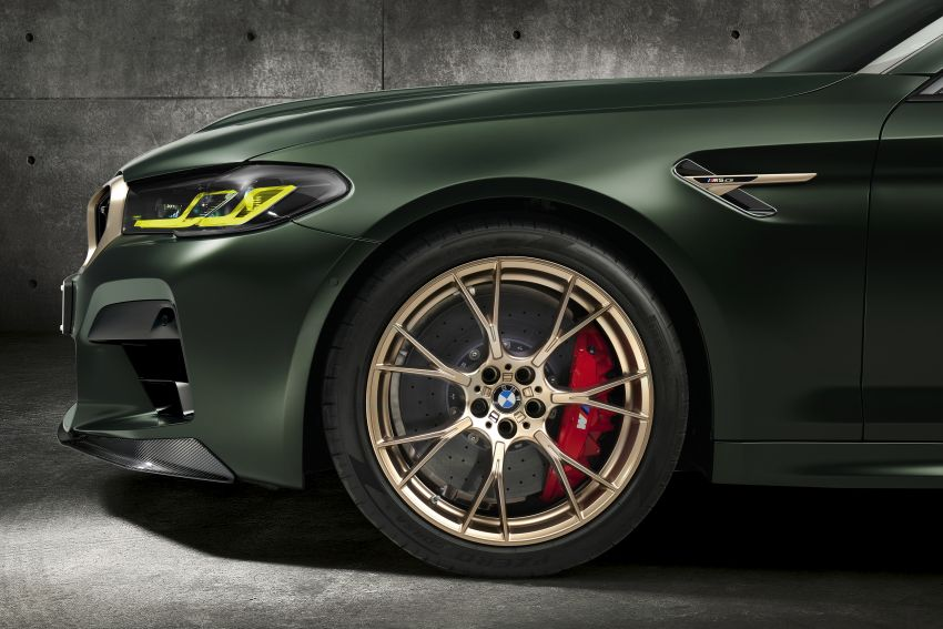 BMW M5 CS – 635 hp/750 Nm, 0-100 km/h in three seconds; more carbon, less weight, four bucket seats Image #1240459