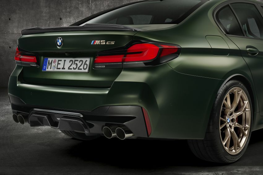 BMW M5 CS – 635 hp/750 Nm, 0-100 km/h in three seconds; more carbon, less weight, four bucket seats Image #1240447