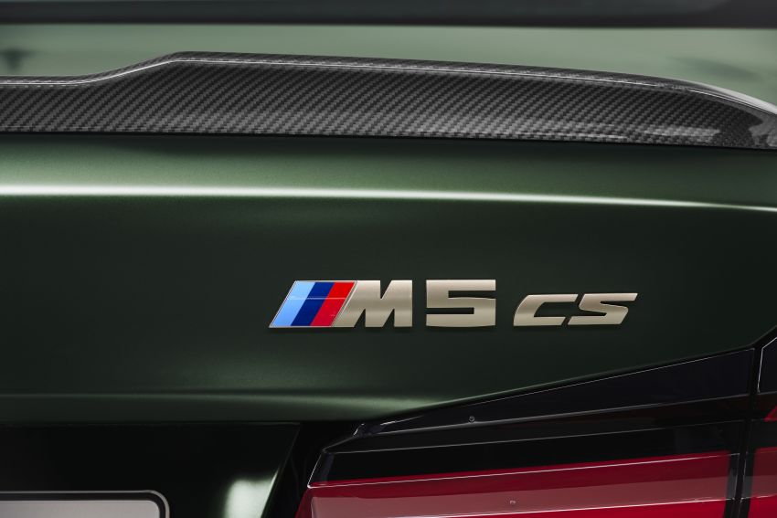 BMW M5 CS – 635 hp/750 Nm, 0-100 km/h in three seconds; more carbon, less weight, four bucket seats Image #1240446