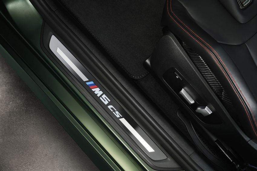 BMW M5 CS – 635 hp/750 Nm, 0-100 km/h in three seconds; more carbon, less weight, four bucket seats Image #1240445