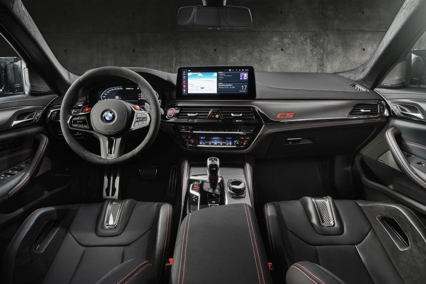 BMW M5 CS – 635 hp/750 Nm, 0-100 km/h in three seconds; more carbon, less weight, four bucket seats Image #1240444