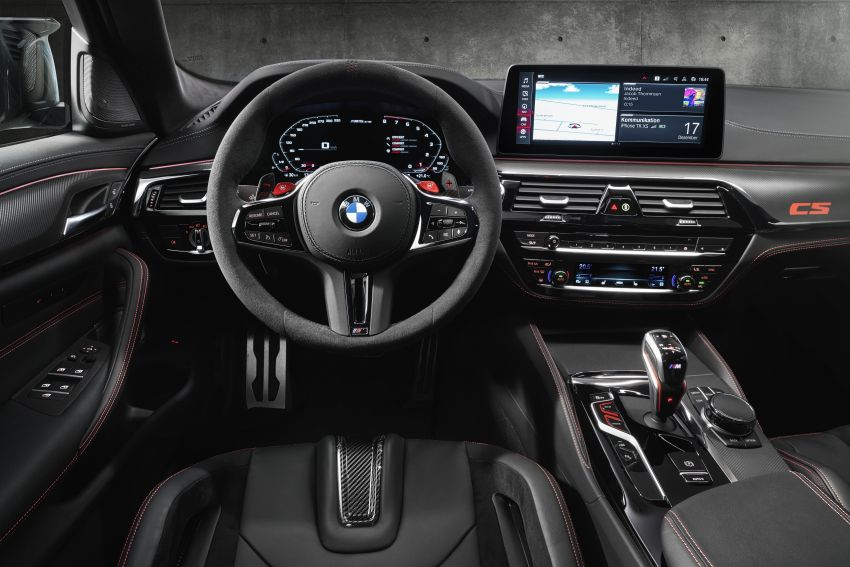 BMW M5 CS – 635 hp/750 Nm, 0-100 km/h in three seconds; more carbon, less weight, four bucket seats Image #1240442