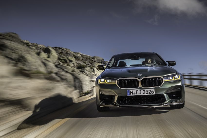 BMW M5 CS – 635 hp/750 Nm, 0-100 km/h in three seconds; more carbon, less weight, four bucket seats Image #1259078