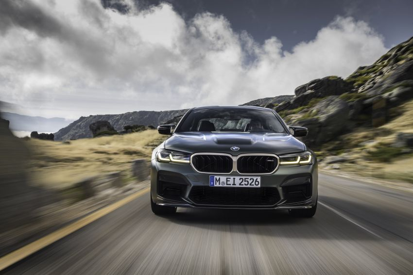 BMW M5 CS – 635 hp/750 Nm, 0-100 km/h in three seconds; more carbon, less weight, four bucket seats Image #1259077