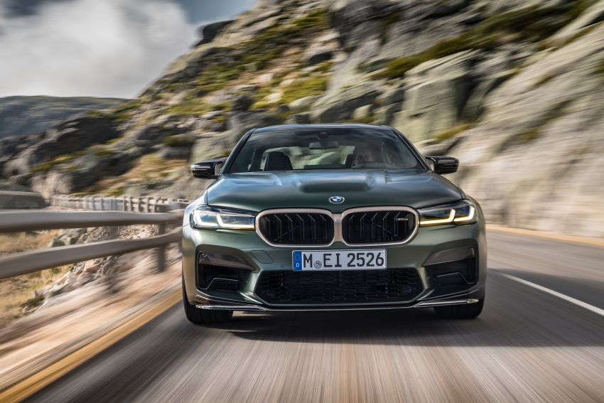 BMW M5 CS – 635 hp/750 Nm, 0-100 km/h in three seconds; more carbon, less weight, four bucket seats Image #1259079