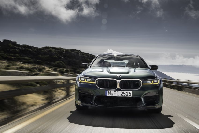 BMW M5 CS – 635 hp/750 Nm, 0-100 km/h in three seconds; more carbon, less weight, four bucket seats Image #1259081