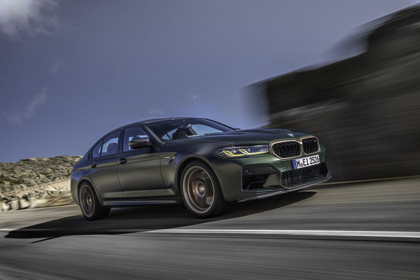BMW M5 CS – 635 hp/750 Nm, 0-100 km/h in three seconds; more carbon, less weight, four bucket seats Image #1259082