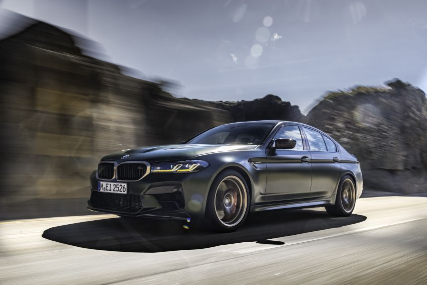 BMW M5 CS – 635 hp/750 Nm, 0-100 km/h in three seconds; more carbon, less weight, four bucket seats Image #1259083