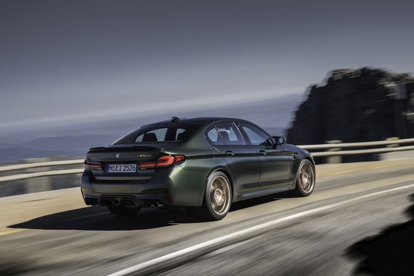 BMW M5 CS – 635 hp/750 Nm, 0-100 km/h in three seconds; more carbon, less weight, four bucket seats Image #1259086
