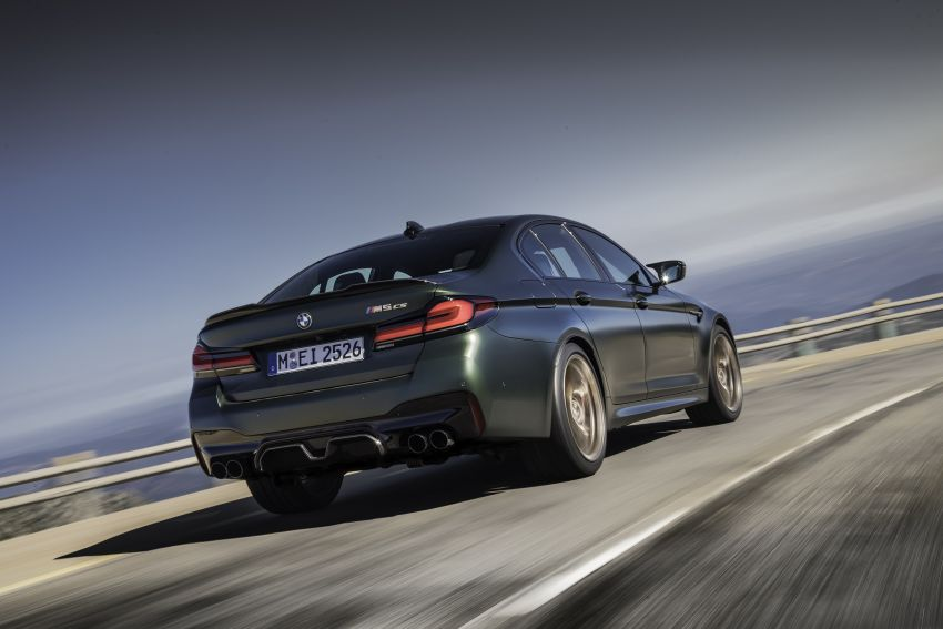 BMW M5 CS – 635 hp/750 Nm, 0-100 km/h in three seconds; more carbon, less weight, four bucket seats Image #1259087