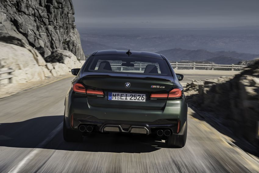 BMW M5 CS – 635 hp/750 Nm, 0-100 km/h in three seconds; more carbon, less weight, four bucket seats Image #1259088